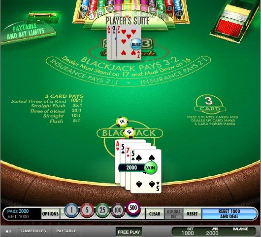 21 3 Blackjack Odds8736