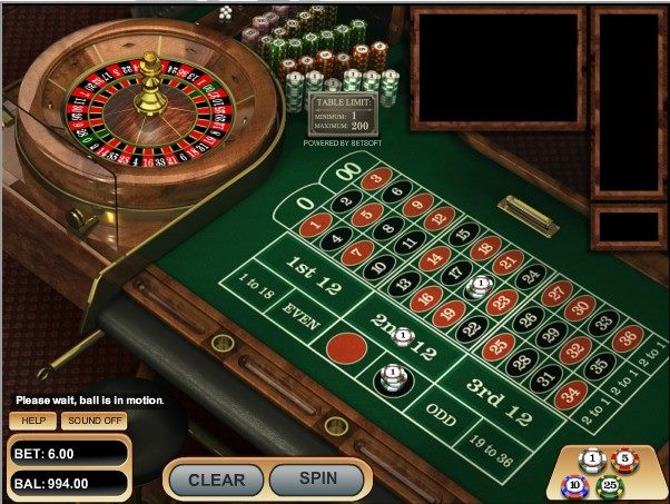 American Roulette- Betsoft