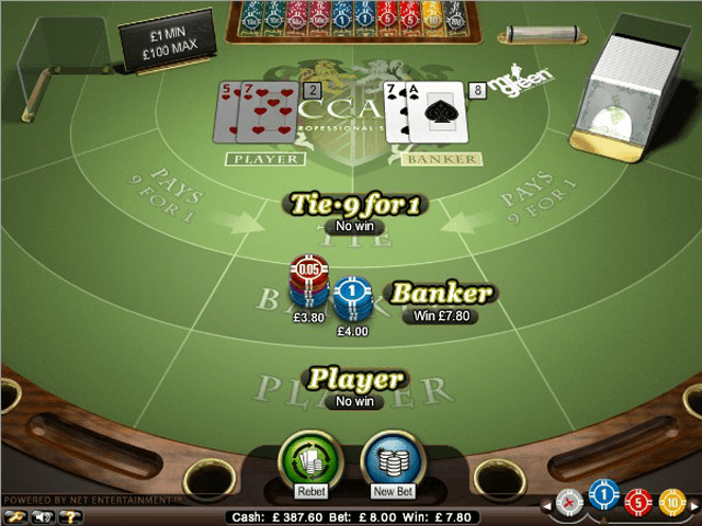 Baccarat pro series table game why is gambling addiction a problem