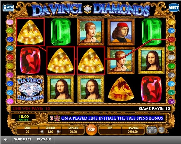 Da Vinci Diamonds 2