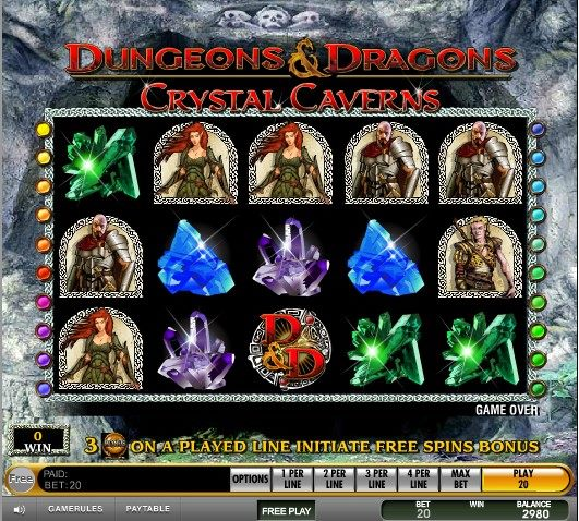 Dungeons and Dragons – Crystal Caverns