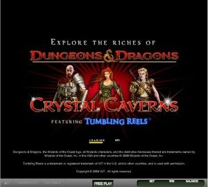 Dungeons and Dragons – Crystal Caverns1