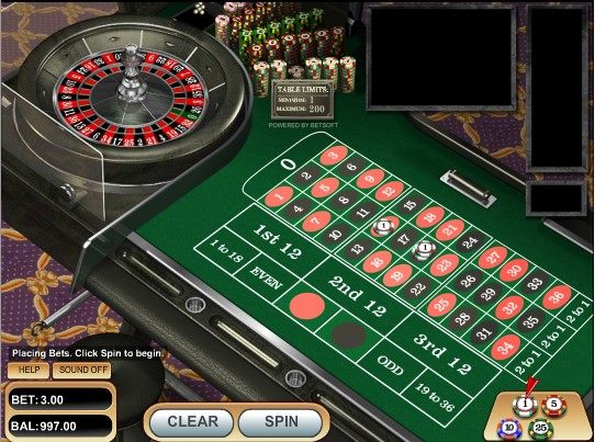 European Roulette – BetSoft