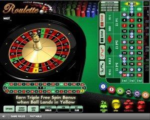 Triple Bonus Spin Roulette1
