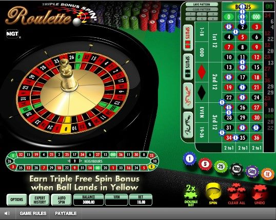 Triple Bonus Spin Roulette The Igt Experience