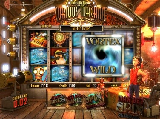 Best Casinos The Curious Machine Slot Game
