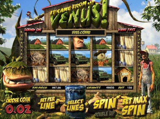 VegasParadise It Came from Venus Slot