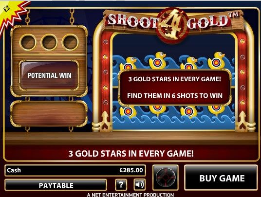 VegasParadise Shoot 4 Gold Free Games