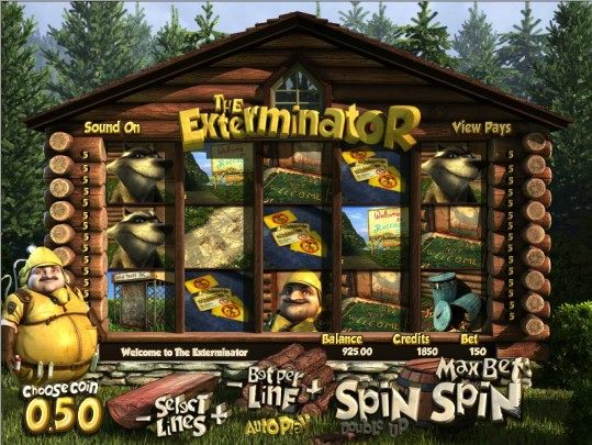 VegasParadise The Exterminator Slot Game