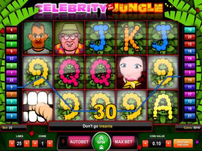 celebrity jungle slot