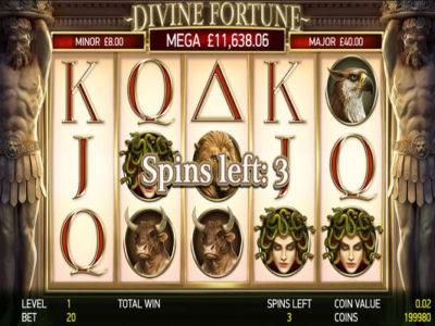 divine fortune game