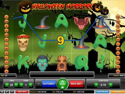 halloween horrors pokie