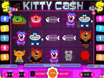 kitty cash pokie