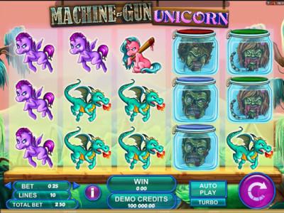 machien gun unicorn