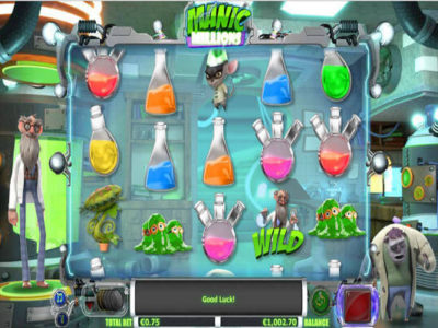 Manic Millions slot game