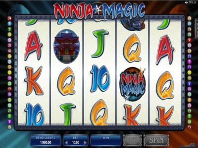 ninja magic game