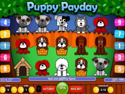 puppy payday slot