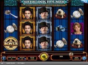 sherlock holmes slot game