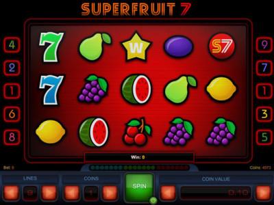 superfruit 7 pokie