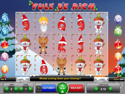 Yule be rich Pokie